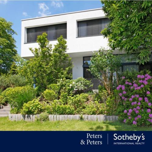 Garten Bauhausstil haus in rhein gebiet götzenhain exklusives architektenhaus